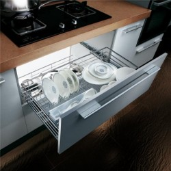 OP-LB060WD: Pull Out Dish Basket