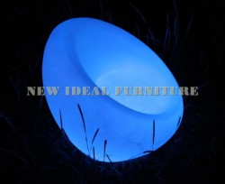 Chair with LED light
