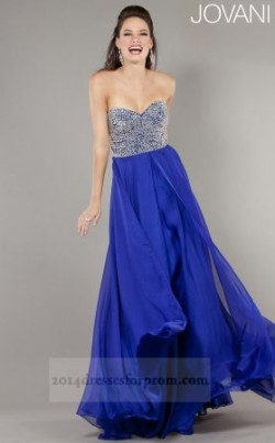 Blue Beaded Top Jovani 3740 Long Prom Dresses [long blue dresses for prom] – $158.00 : www ...