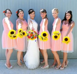 Blue Bridesmaid Dresses Canada | Pickeddresses