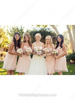 Pretty Pink Bridesmaid Dresses   Fuchsia Pink, Hot Pink Dresses for Bridesmaids, PWD