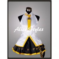 Alicestyless.com Hatsune Miku Project DIVA Teto Yellow Cosplay Costume