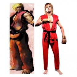 Alicestyless.com Street Fighter Ken Cosplay Costume