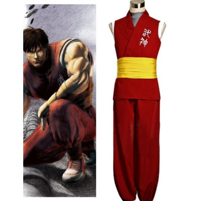 Alicestyless.com Street Fighter Zero 3 Guy Cosplay Costume
