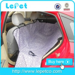 Manufacturer wholesale custom logo waterproof dog pet car seat cover with seat anchors