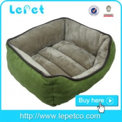 Factory Christmas sales soft warm plush lucky pet dog beds