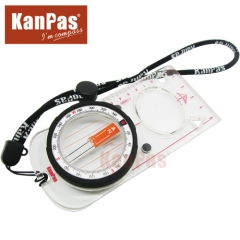 KANPAS baseplate compass with magnifier for orienteering elite competition