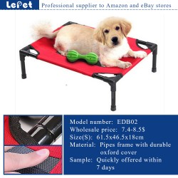 Outdoor travel camping cot foldable raised dog bed manufacturer wholesale