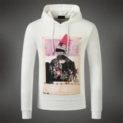 Dsquared2 Men DS11 Dean POP Sweatshirt White