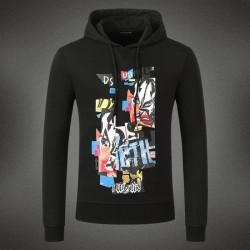 Dsquared2 Men DS14 Graffiti Print Sweatshirt Black