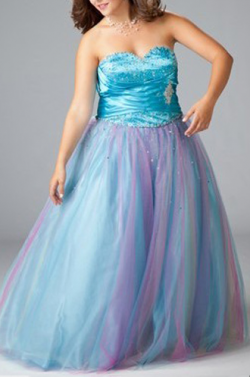 US$169.99 2015 Sweetheart Beading Satin Sleeveless Blue Ruched Lace Up Tulle Floor Length