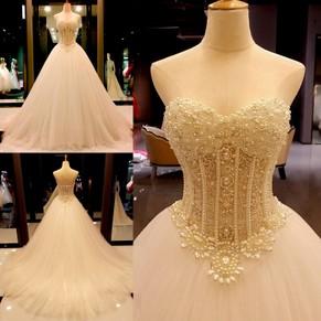 Ball Gown Wedding Dresses, Ball Gown Bridal Dresses – DressesofGirl.com