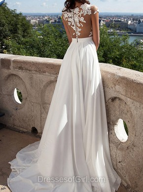 White Prom Dresses, Graceful Prom Dresses – DressesofGirl.com