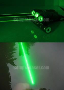 Puntero láser 100mW verde impermeable muy barato