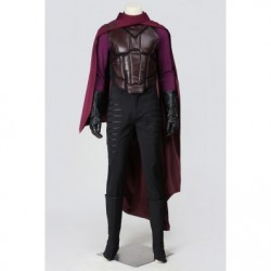 X-Men Days of Future Past Cosplay Magneto Erik Lehnsherr Cosplay Costumes