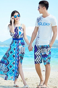 Teamlala summer pairlook beach fashion