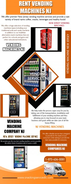 vending machine companies NJ