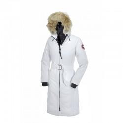 Canada Goose Women's Whistler Parka In White