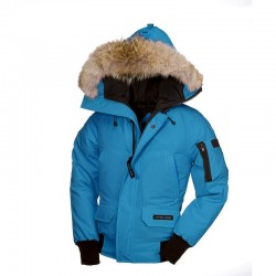 Canada Goose Youth's Chilliwack Bomber In Sky Blue