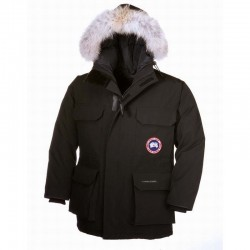 Canada Goose Youth's Expedition Parka In Black