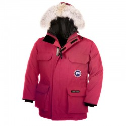 Canada Goose Youth's Expedition Parka In Pink