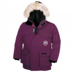 Canada Goose Youth's Expedition Parka In Purple