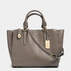 Coach Crosby Carryall in Leather Grey