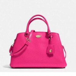 Coach Margot Carryall In Leather Rose