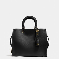 Coach 1941 Rogue Bag In Glovetanned Pebble Leather Black