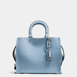 Coach 1941 Rogue Bag In Glovetanned Pebble Leather Sky Blue