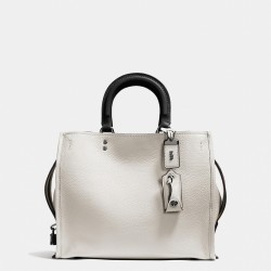 Coach 1941 Rogue Bag In Glovetanned Pebble Leather White