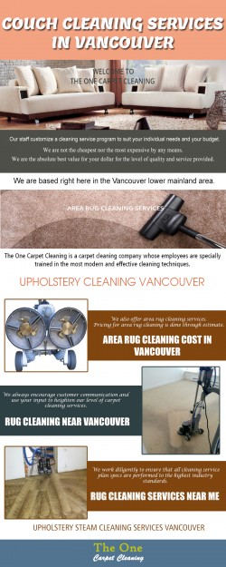 Vancouver Professional Couch Cleaning Prices