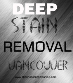 Deep Stain Removal Vancouver