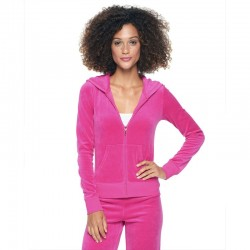 Juicy Couture Sequin Crown Velour Tracksuit 602 2pcs Women Suits Rose