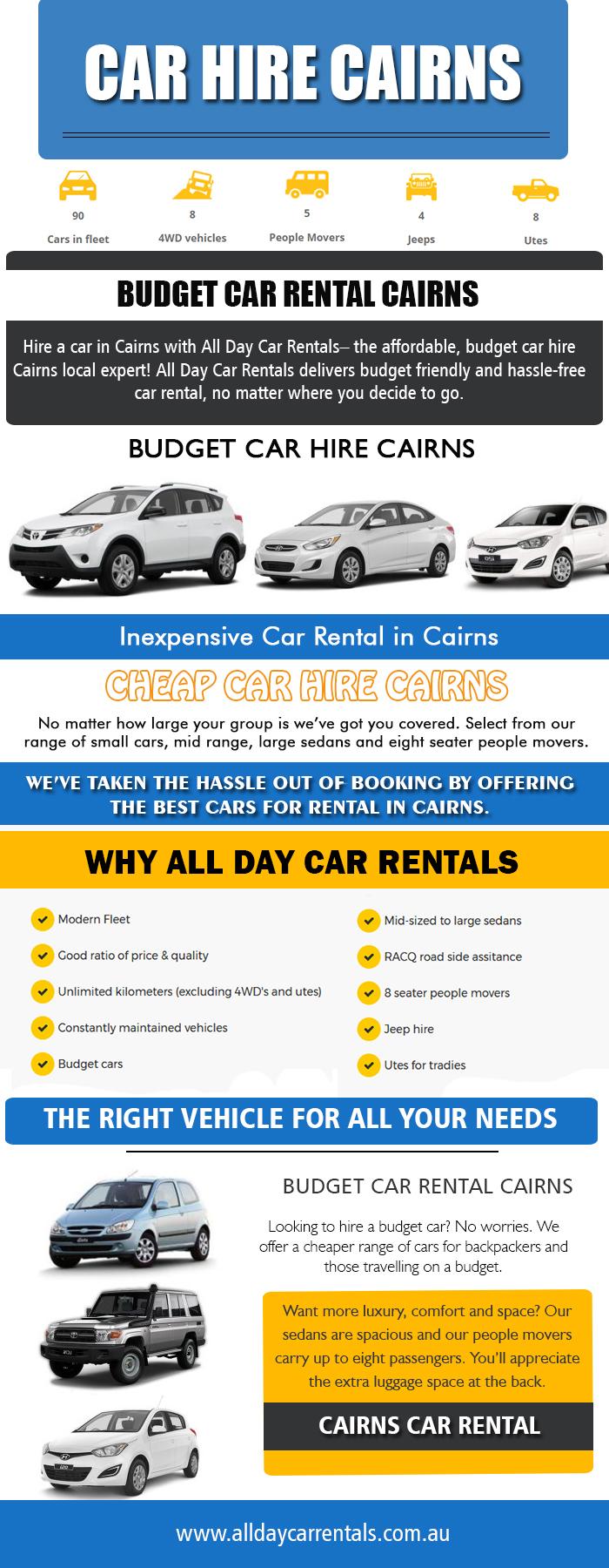 Car hire Cairns