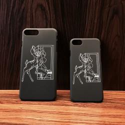 ジバンシィ iphone8 iphone7 iphone7plusケース ジャケット バンビ かわいい フルカバー