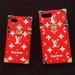 ヴィトン シュプリーム iphone8ケース コラボ iphoneXケース 限定製品