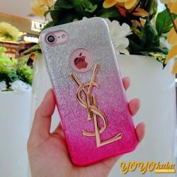 イヴサンローラン IPhone 8/X 携帯カバー ピンク ysl ジャケット サンローラン iphoneスマホケース 可愛い
