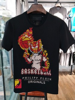 Philipp Plein SS2017 Mens T-Shirt Basketball All Star Black