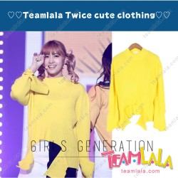 Korea TWICE Music Bank Hirai Momo Zwi Sweaters Directed Dance Uniform