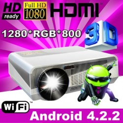 Android 4.2 HD LED Projector