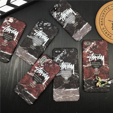商品名:ステューシー iphone8ケース stussy 個性 iphoneXカバー アイフォン7プラス ハードケース iphon ...