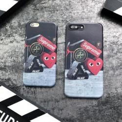 シュプリーム supreme ブランド iphoneX カバー iphone8 ケース シリコン製 アイフォン6s/6/6plus/7/7p ...