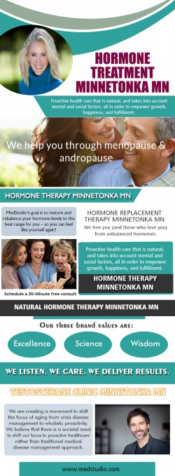 Natural Hormone Treatment Oakdale MN