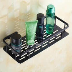 Oil-rubbed Bronze Black Bathroom Shelves