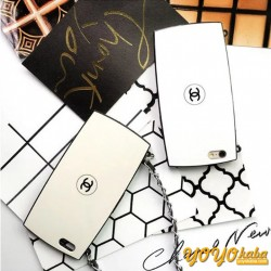 シャネル アイフォン8/x パウダーケース チェーン 個性 おしゃれ chanel iphone8 plus ケース