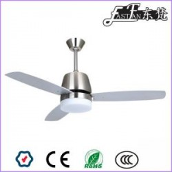 East Fan 52inch Three Blade Indoor Ceiling Fan with light item EF52148A | Ceiling Fan