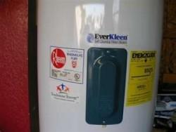 hot water heater not working