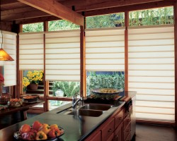 Window treatments ShermanOak