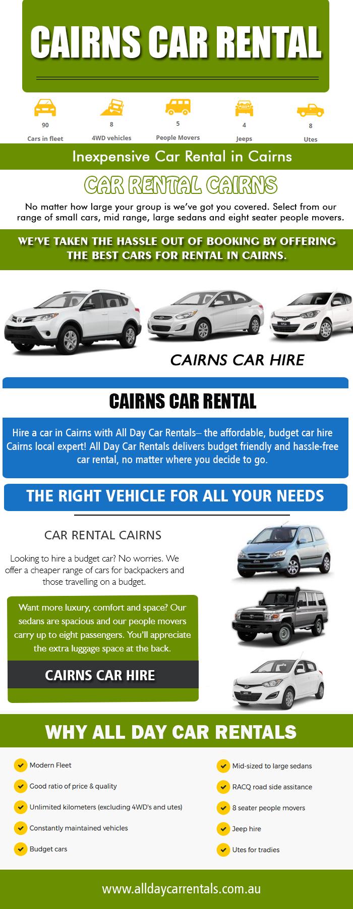 hire car cairns